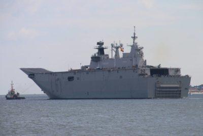 JUAN CARLOS I (L-61) aircraft carrier