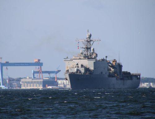 BALTOPS 2019: Marineschiffe in der Kieler Förde auf dem Weg zum Mannöver in der Ostsee