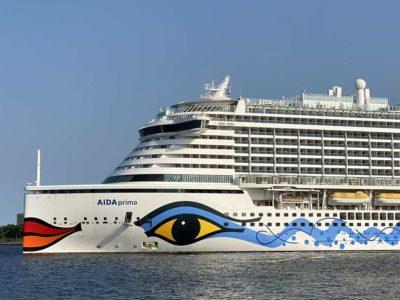 AIDA cruise from Kiel with AIDAprima