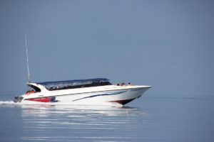 Motorboot in Thailand - Ausflug von Koh Samui nach Koh Tao