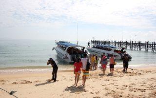 Mit dem Motorboot von Ko Samui nach Ko Tao