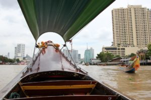 Flussfahrt Chao Phraya in Bangkok