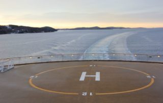 Color Line im Oslofjord auf dem Weg von Oslo nach Kiel