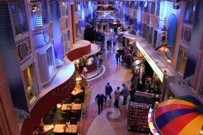 Shops & restaurants on board the Color Line - Kiel - Oslo route