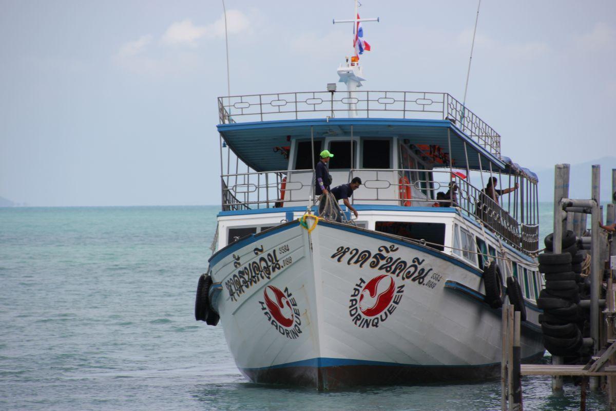 Haad Rin Queen Fähre Thailand Koh Samui