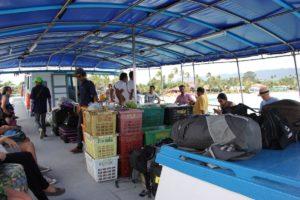 An Bord der Haad Rin Queen Fähre - Mit dem Schiff von Koh Samui nach Koh Phangan