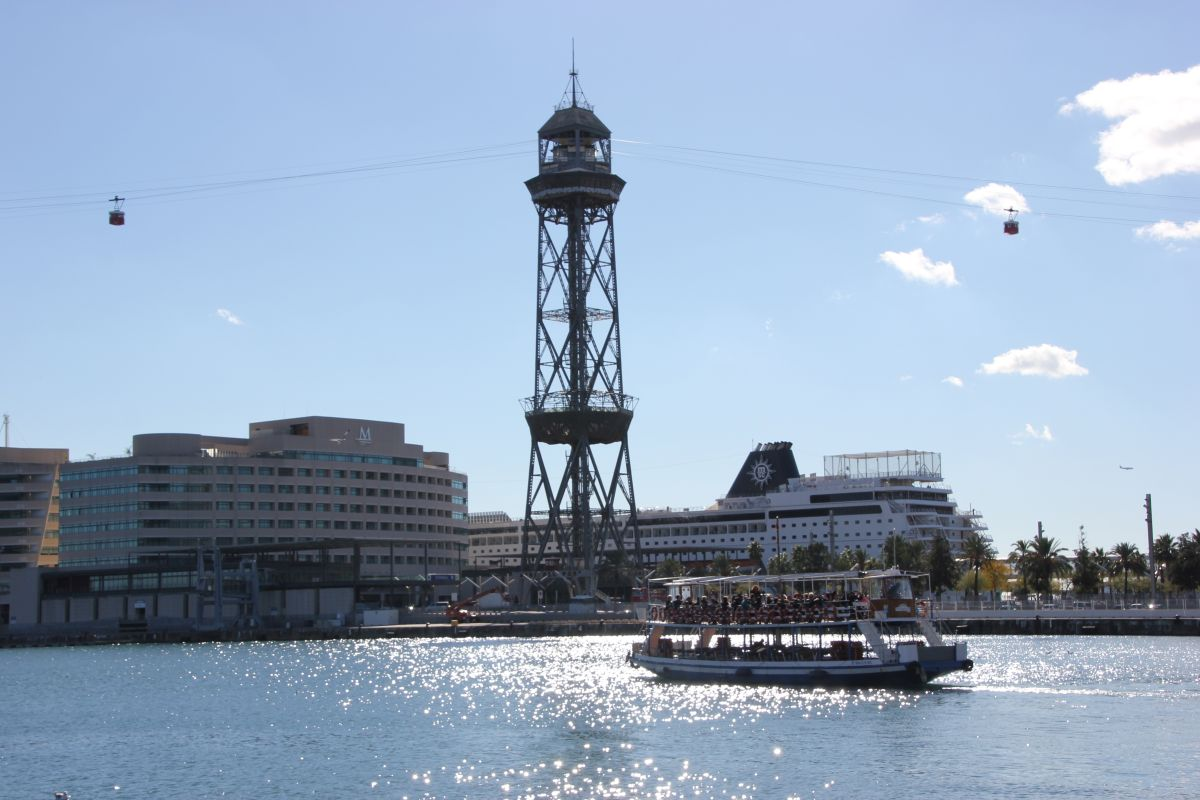 Hafen & Seilbahn Barcelona