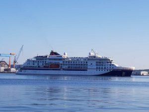 Kreuzfahrtschiff Hanseatic Inspiration in Kiel