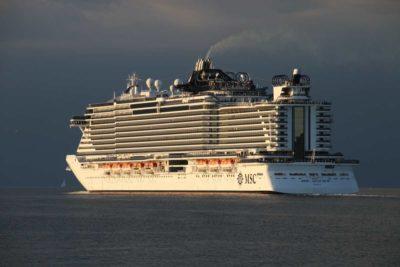 MSC Seaview in der Ostsee / Ostseekreuzfahrt ab Kiel