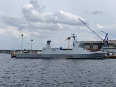 Corvette Marine Israel in Kiel
