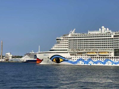 Cruise ship AIDAprima cruise from Kiel