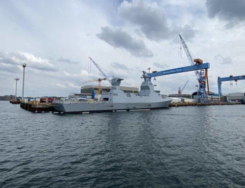 Israeli corvette INS Nitzachon leaves Kiel shipyard for Israel