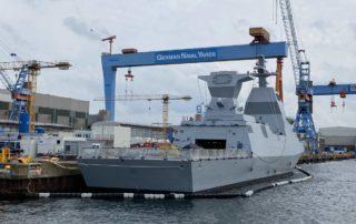 Korvette Israel Kriegsschiff in Kiel