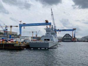 Israelische Korvette in Kiel TKMS Werft