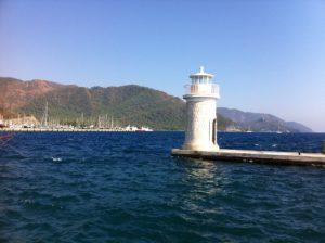 Marmaris Leuchtturm Hafeneinfahrt Yachthafen
