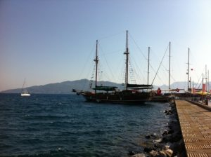 Segelschiff Marmaris Yachthafen