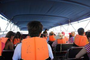 Fahrt mit den Motorboot von Koh Samui nach Koh Tao zum Schnorcheln