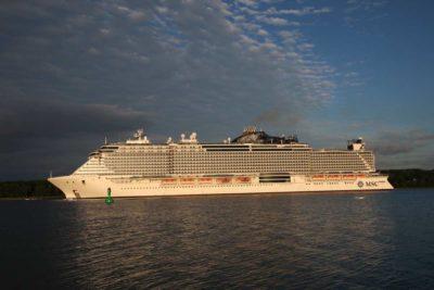 MSC Seaview ab Kiel