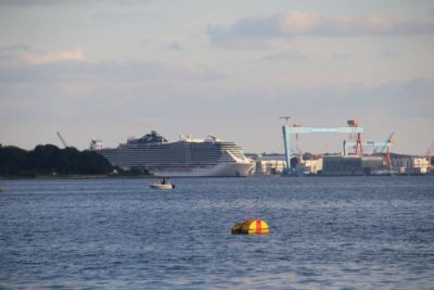 MSC Seaview Kiel Ostuferhafen Kieler Förde