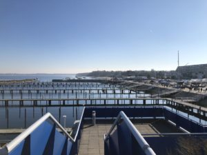 Schilksee Olympiahafen im Frühjahr