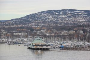 Oslo Yachthafen & Holmenkollen im Winter