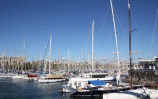 Royal Barcelona Maritime Club Maremagnum - Segelboote in der Marina