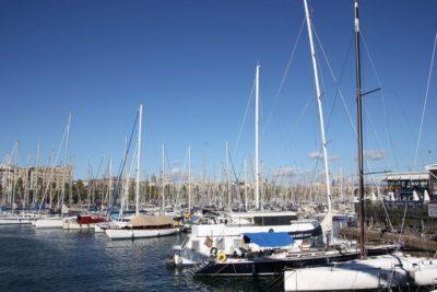 Royal Barcelona Maritime Club Maremagnum - sailing boats in the marina