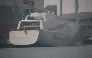 Sailing Yacht A - SYA weltgrößte Segelyacht