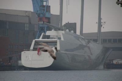 Luxury yacht SYA in Kiel