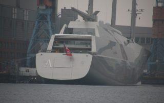 SYA - Sailing Yacht A in Kiel