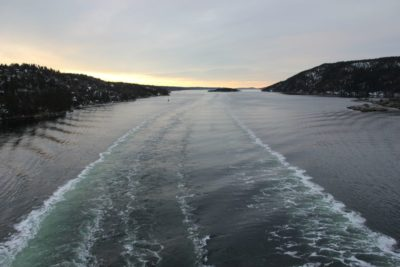 Out and about in the Oslofjord in Norway - With the Color Line from Oslo to Kiel