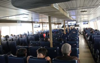 Passagierdeck Fähre Nathon - Surat Thani