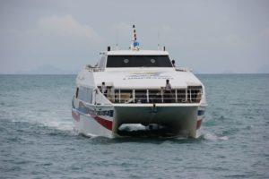 Fähre Nathon Surat Thani in Thailand - Koh Samui - Festland Fährverbindung