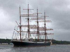 Sedov Segelschiff in der Kieler Förde Juni 2018