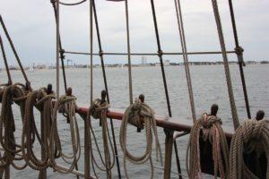 Segelschiff in der Ostsee vor Warnemünde