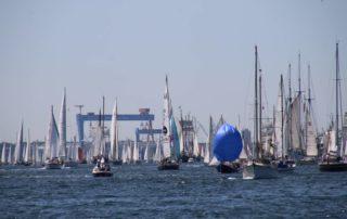 Segelschiffe Windjammerparade Kieler Förde