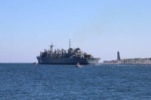 USNS Supply in Kiel Juni 2021