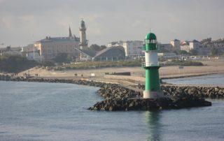 Warnemünde Westmole & Warnemünder Leuchtturm