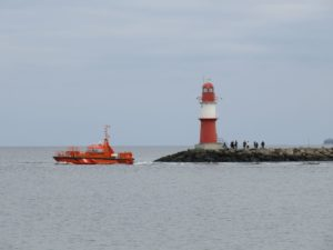 Lotsenboot Warnemünde Ostmole