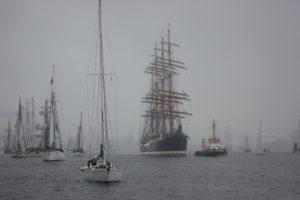 Sedov Segelschiff Windjammerparade 2013 Kieler Förde