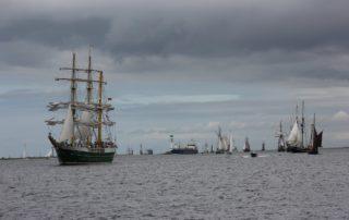 Segelschiff Alexander von Humboldt II Kieler Förde Windjammerparade 2013