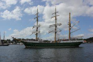 Alexander von Humboldt II Segelschiff Kieler Woche Windjammerparade 2013