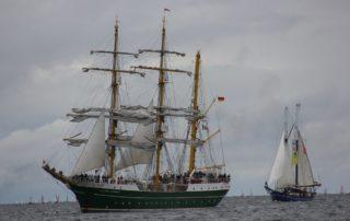 Alexander von Humboldt II in der Kieler Förde zur Windjammerparade Kiel