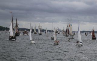 Windjammerparade Kieler Woche 2018