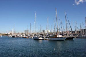 Segelschiffe Marina Barcelona