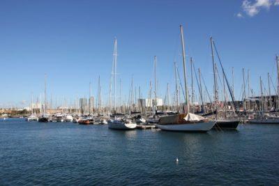 Sailing ships Marina Barcelona
