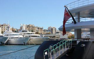 Yachthafen Port Vell Barcelona