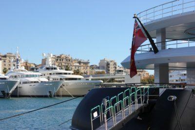 Port Vell marina, Barcelona